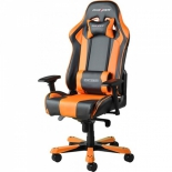 компьютерное кресло DXRacer King OH/KS06/NO, черно-оранжевое