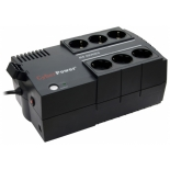 источник бесперебойного питания CyberPower BS650E black