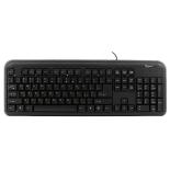 клавиатура Gembird KB-8330U-BL USB, черная