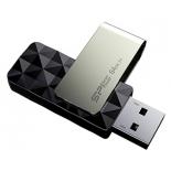usb-флешка Silicon Power Blaze B30 64GB, серебристо-черная