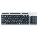клавиатура Sven Standard 309M, серебристая