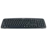 клавиатура Gembird KB-8350U-BL, черная