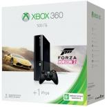 игровая приставка Microsoft Xbox 360 500Gb (+ Forza Horizon 2), черная