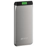 аксессуар для телефона Hiper SLS6300, портативный аккумуляор, 6300 мАч, 2.1 А, USB, серебристый