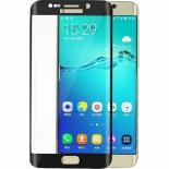 защитное стекло для смартфона Ainy для Samsung Galaxy S6 Edge/G925 Full Screen Cover 3D, черное