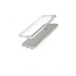 чехол iphone Накладка skinBOX slim silicone для Apple iPhone 7, прозрачный