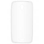 чехол для смартфона Накладка skinBOX slim silicone для Lenovo A1010/A2016, прозрачный