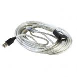 кабель (шнур) AOpen ACU823-10M (USB 2.0, MF, 10 м)