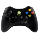 геймпад Microsoft Xbox 360 Wireless Controller, чёрный