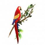 товар для детей Попугай Hansa Ара, Красный