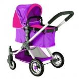 кукла RT 646, (кукольная коляска) Фиолетовый-Фуксия