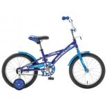велосипед Novatrack Delfi 18, синий / голубой