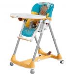 стульчик для кормления Peg-Perego Prima Pappa Diner Hippo Giallo