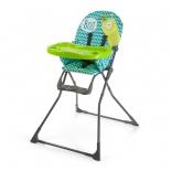 стульчик для кормления Happy Baby Ergoslim, aquamarine