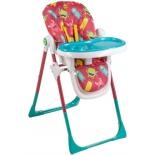 стульчик для кормления Happy Baby Goodie, вишневый