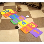 детский коврик Funkids Классики-1 с цифрами (развивающий)