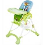 стульчик для кормления Liko Baby LB НС51, Зелёный самолёт
