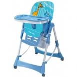 стульчик для кормления Liko Baby LB НС51, Синий Жираф