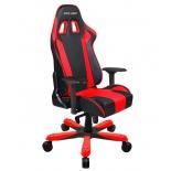 компьютерное кресло DXRACER King OH/KS06/NR, для геймеров, черно-красное