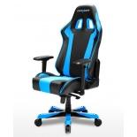 компьютерное кресло DXRACER King OH/KS06/NB, для геймеров, черно-голубое