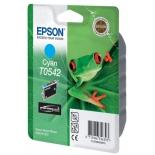 картридж Epson T0542 голубой