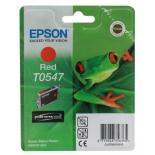 картридж Epson T0547 красный