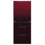 холодильник Sharp SJGF60AR, черный рубин