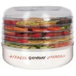 Сушилка для овощей и фруктов Endever Skyline FD-56, белая