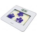 Напольные весы Scarlett SC-BS33E002, фиолетовые цветы