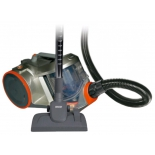 Пылесос Mystrey MVC-1126, серый с оранжевым
