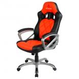 игровое компьютерное кресло Red Square Comfort, оранжевое