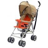 коляска Baby Care Hola Легкая детская коляска-трость, тёмно - серая / красная
