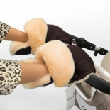 аксессуар к коляске Муфта - рукавички Esspero Oskar шоколад