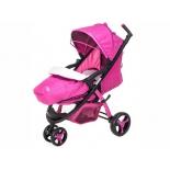 коляска Liko Baby BT-1218, розовая