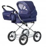 коляска Amalfy GB-6628, синяя