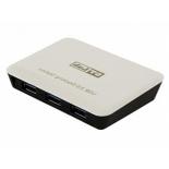 USB-концентратор STLab U-810 (активный, 3 x USB 3.0, Gb-LAN)