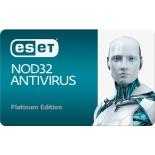 антивирус ESET NOD32 Антивирус Platinum Edition (3 ПК, 2 года)