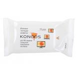 чистящая принадлежность для ноутбука Влажные салфетки Konoos KSN-15