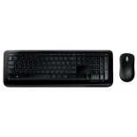 комплект Microsoft Wireless Desktop 850 USB, черный