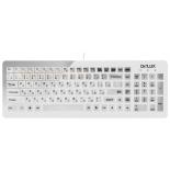 клавиатура Delux DLK-1500 USB, белая