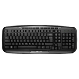 клавиатура Delux K6200U USB, черная