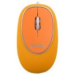 мышка Sven RX-555 USB,  оранжевая