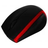 мышка Crown CMM-009, черно-красная