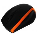 мышка Crown CMM-009, черно-оранжевая