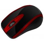 мышка Crown CMM-014, черно-красная