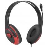 гарнитура для ПК Defender Phoenix 875, черно-красная