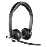 гарнитура для пк Logitech Wireless Headset Dual H820e Black