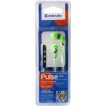 гарнитура для телефона Defender Pulse-455, зеленая
