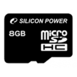 карта памяти MicroSDHC 8Gb class10 Silicon Power