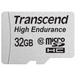 карта памяти Transcend  MicroSDHC 32Gb class10 UHS-1 High Endurance R/W 21/20 MB/s